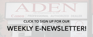 Sign up for our weekly enewsletter!