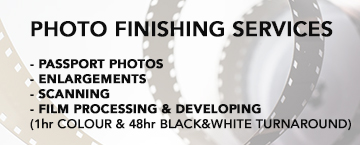 Photo finishing services!