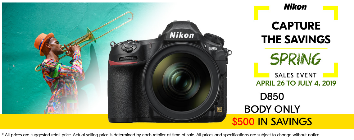 Nikon - Capture The Savings.