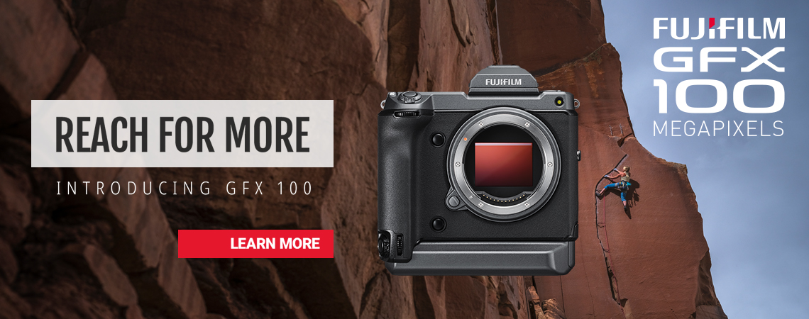 Introducing the 100 Megapixel - Fujifilm GFX100 Medium Format Mirrorless Camera Body.