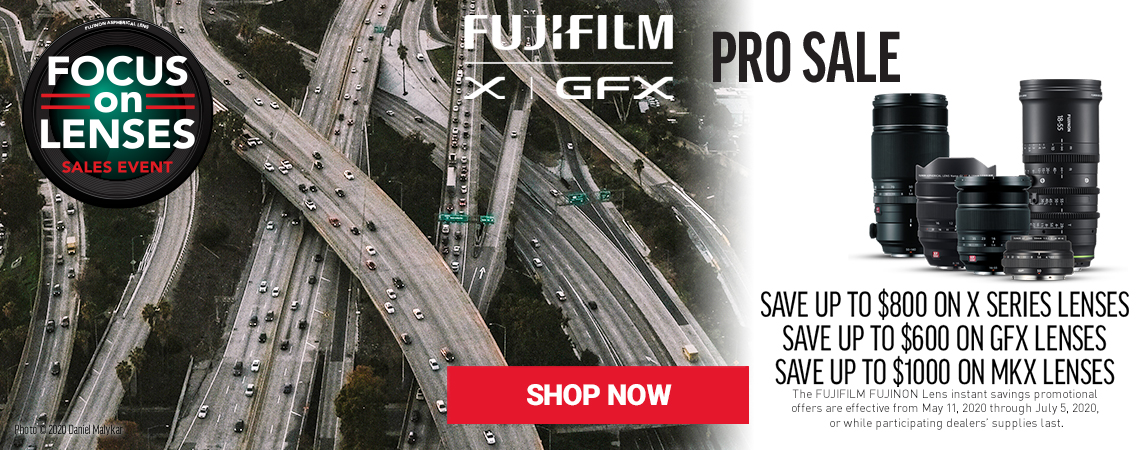 Fujifilm Focus on Lenses Sale