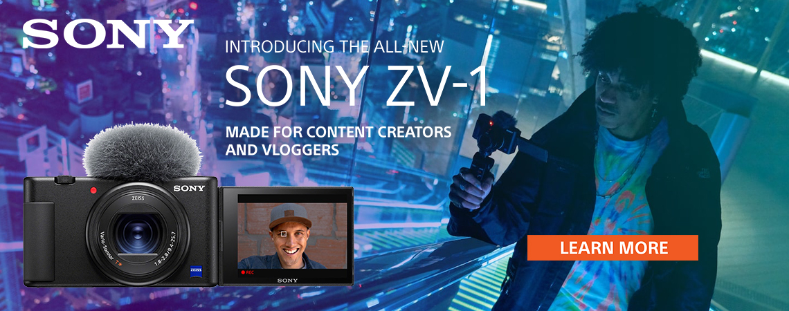 NEW Sony ZV-1 VLogging Digital Camera