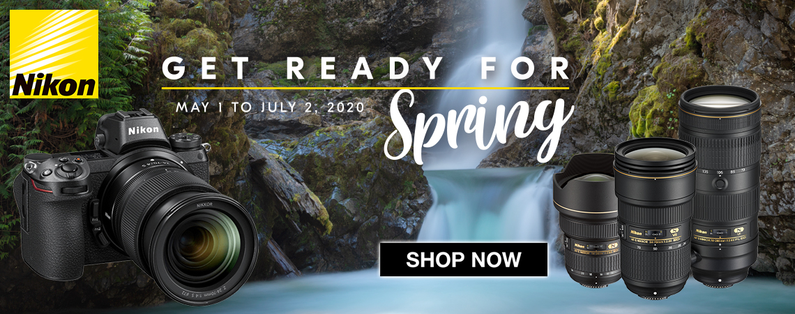 Nikon Spring Time SAVINGS.