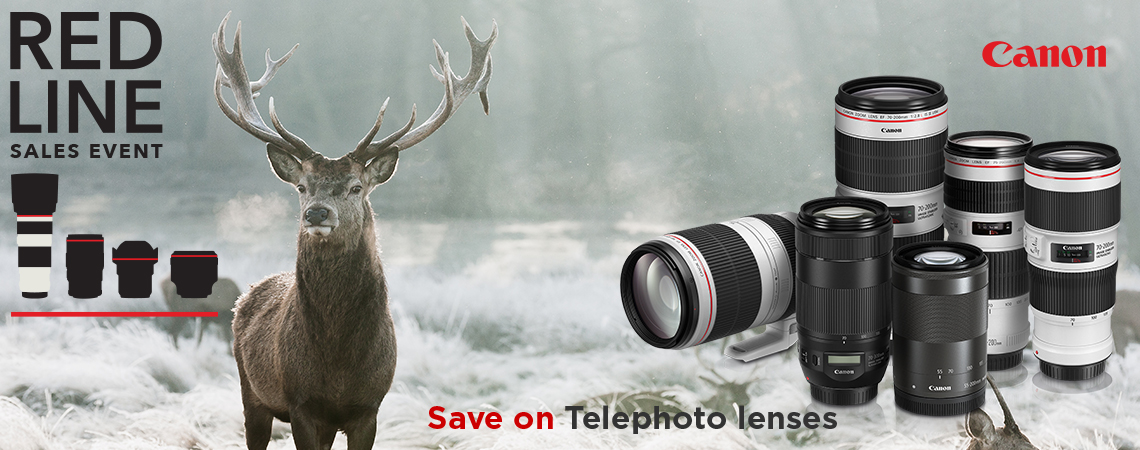 Canon Red Line Sales Event.