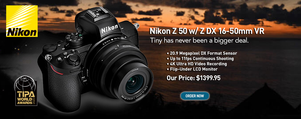 Nikon Z 50 Kits....Now on Sale