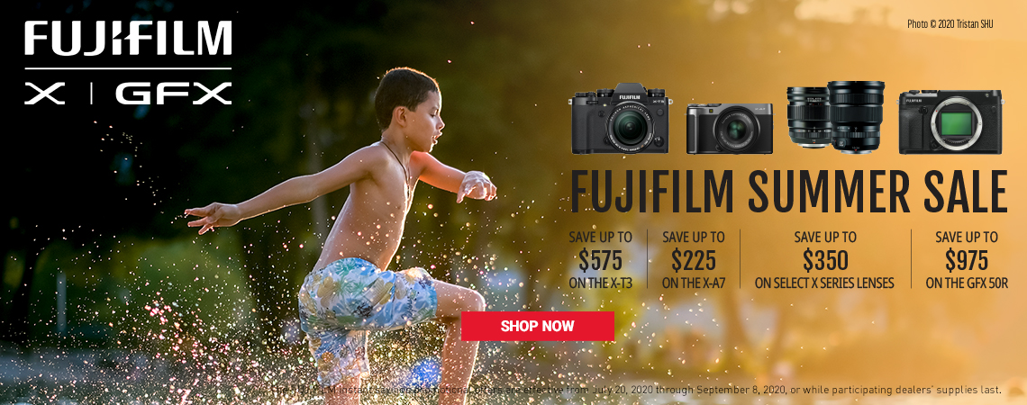 Fujifilm Summer Savings 2020