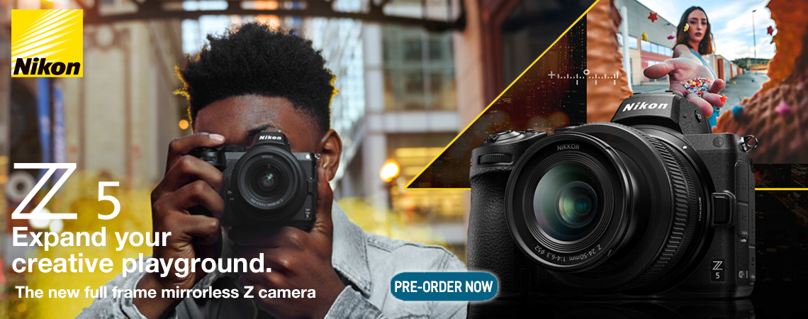 Nikon Z 5 - Expand your creative playground.