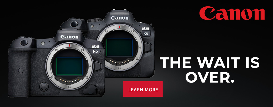 The wait is over.....Canon EOS R5 and R6.