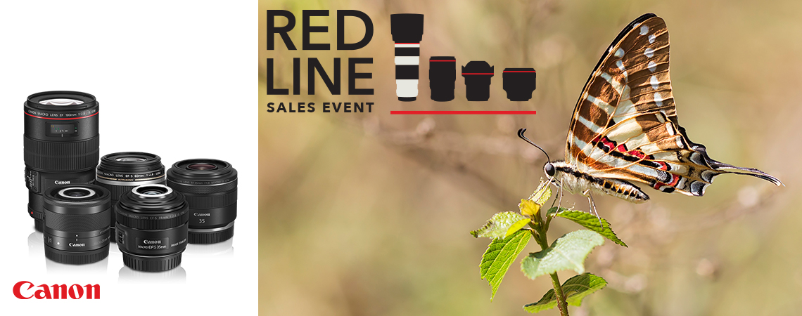 Canon RED Line Sales Event