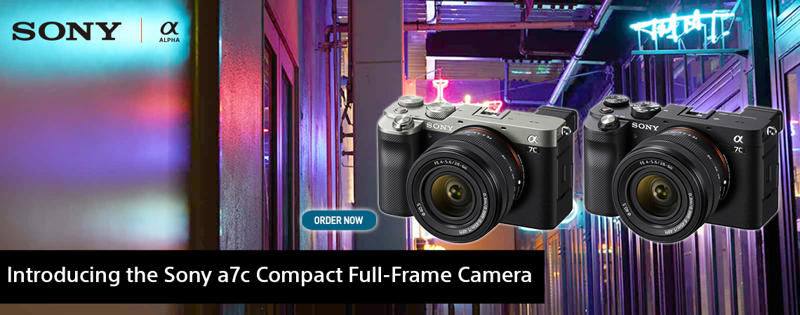 Introducing the New Sony Alpha A7c Compact Full-Frame Camera