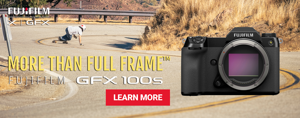 Announcing the New Fujifilm GFX 100s Digital Mirrorless Medium Format Camera.