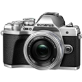 Olympus OM-D E-M10 Mark III Digital Camera w/ 14-42mm EZ Lens (Silver)
