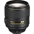 NIKKOR AF-S 105mm F1.4E ED Lens with Bonus