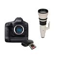 Canon EOS-1DX Mark III DSLR Camera <br> w/ CFexpress Card, Reader + CF Express 512GB Memory Card + Canon EF 800mm F5.6L IS USM Lens