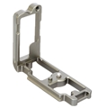 3 Legged Thing - <br>Zelda L-Bracket for Nikon Z 6 and Z 7 Cameras (Metallic Slate Gray)