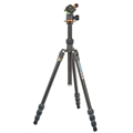 3 Legged Thing - <br>Punks Travis Aluminum Travel Tripod w/ AirHed Neo Ball Head (Black)