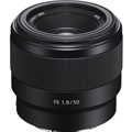 Sony FE 50mm F1.8 Lens (Black) (SEL50F18F)