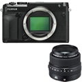 Fujifilm GFX 50R Medium Format Mirrorless Camera <br> w/ 63mm Lens Kit