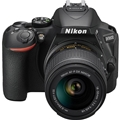 Nikon D5600 DSLR Camera w/  AF-P DX Nikkor 18-55mm f3.5-5.6G VR Lens (Refurbished)