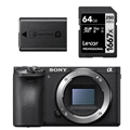 Sony a6500 Mirrorless Digital Camera (Body Only) + BONUS
