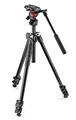 Manfrotto 290 Light 2-Stage Aluminum Tripod with Befree Live Fluid Video Head Kit #MT290LTA3