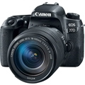 Canon EOS 77D DSLR Camera w/ 18-135mm IS USM Lens<br> w/ LP-E17 Battery & 430EX III RT Speedlite