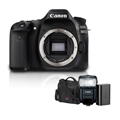 Canon EOS 80D DSLR Camera (Body Only) Free 430EX III-RT and Accessories