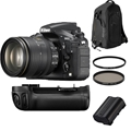 Nikon D810 Body w/ AF-S 24-120mm F4 G Lens + Accessories Bundle!