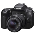 Canon EOS 90D DSLR Camera w/ 18-55mm Lens BUNDLE TAMRON LENS