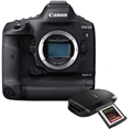 Canon EOS-1DX Mark III DSLR Camera <br> w/ CFexpress Card, Reader + CF Express 512GB Memory Card