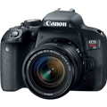 Canon EOS Rebel T7i DSLR Camera w/ 18-55mm STM