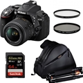 Nikon D5300 w/ AFS DX 18-55mm f3.5-5.6 VR II <br> + Tripod Bundle!