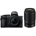 Nikon Z50 Mirrorless Digital Camera w/ 16-50mm & 50-250mm Lens + FTZ Mount adapter Bundle