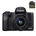 Canon EOS M50 Mirrorless Camera w/ EF-M 15-45mm IS STM