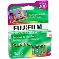 Fujifilm Superia 200 Color Negative Print Film<br>(36exp, 3-Pack)
