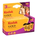 Kodak GOLD 200 Color Negative Print Film<br>(24exp, 3-Pack)