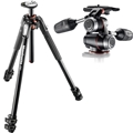 Manfrotto #MT190XPro3 - 190 Aluminum 3-Section Tripodw/ MHXPro-3W - 3 Way Head