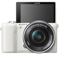 Sony a5100 w/16-50mm Power Zoom (White) (ILCE5100L/W)