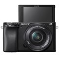 Sony Alpha a6100 Mirrorless Digital Camera w/ 16-50mm Lenses