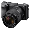 Sony Alpha a6400 Mirrorless Camera w/ 18-135mm OSS Lens