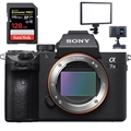 Sony Alpha a7 III Mirrorless Digital Camera (Body) <br>w/ SanDisk Extreme PRO 128GB SDXC UHS-1 Card! + Viltrox L116T