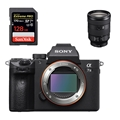 Sony Alpha a7 III Mirrorless Digital Camera (Body) <br>w/ FE 24-105mm F4 Lens & SanDisk Extreme PRO 128GB 170mb/s SDXC UHS-1 Card!