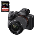 Sony Alpha a7 III Mirrorless Digital Camera w/ 28-70mm Lens <br>w/ SanDisk Extreme PRO 128GB 170mb/s SDXC UHS-1 Card + BC-QZ1 charger
