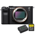 Sony Alpha a7C Mirrorless Camera (Body Only, Black) +BONUS ITEMS