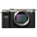 Sony Alpha a7C Mirrorless Camera (Body Only, Silver)