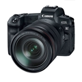 Canon EOS R Mirrorless Digital Camera w/ 24-105mm Lens + Free Mount Adapter EF-EOS R