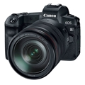 Canon EOS R Mirrorless Digital Camera w/ 24-105mm Lens + BONUS ITEM <br> (Damaged Box - New Unit)