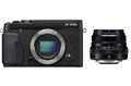 Fujifilm X-E2S Body (black) with XF 35mm f/2 R WR Lens (black)