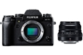 Fujifilm X-T1 Body with XF 35mm f/2 R WR Lens (black)