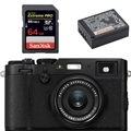 Fujifilm X100F Digital Camera (Black) - Bundle